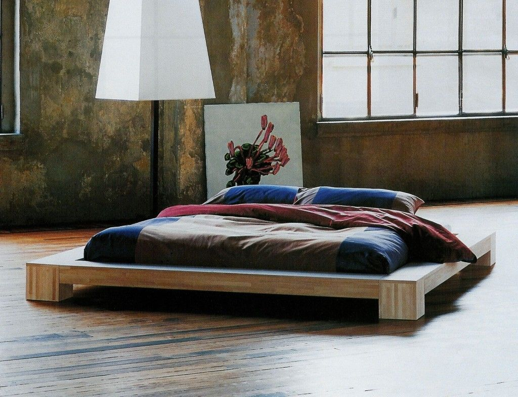 letto basso giapponese