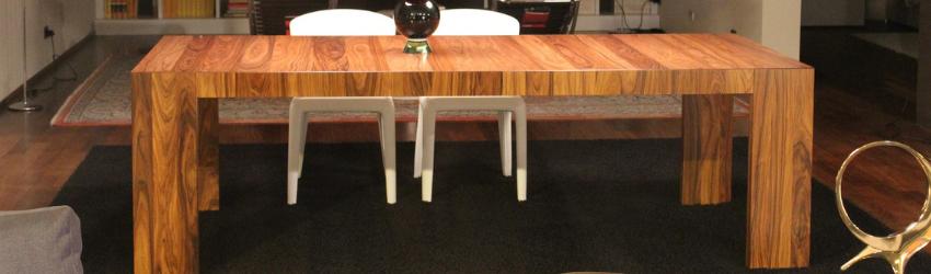 tavolo in legno rettangolare